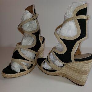 BALENCIAGA GLADIATOR ESPADRILLES Wedge Sandals